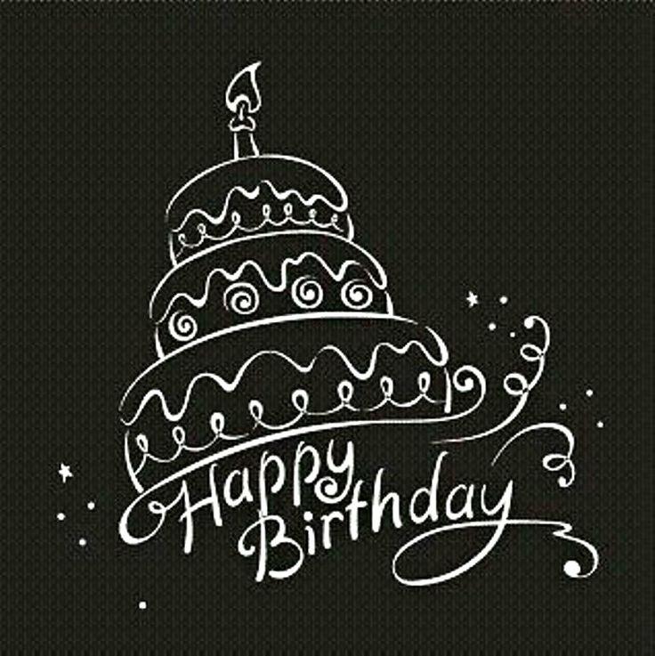 Темные открытки на день рождения