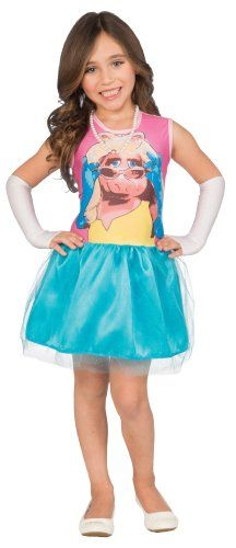 Muppets Girls 46 DressUp Costume Tutu Set Miss Piggy >>> You can find out more details at the link of the image.