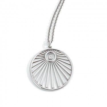 Stylischer Anhänger von d'argento aus Silber 925 Sterling.