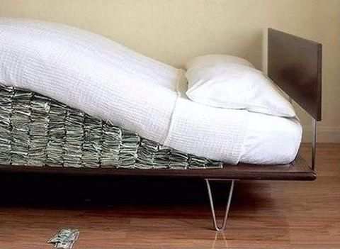 The Diva knows...20 places to hide money at home besides under your mattress!