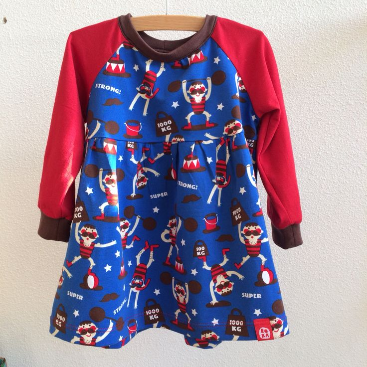 Strongman dress! Made for a super girl ! #strongman #lillestoff #designbybora