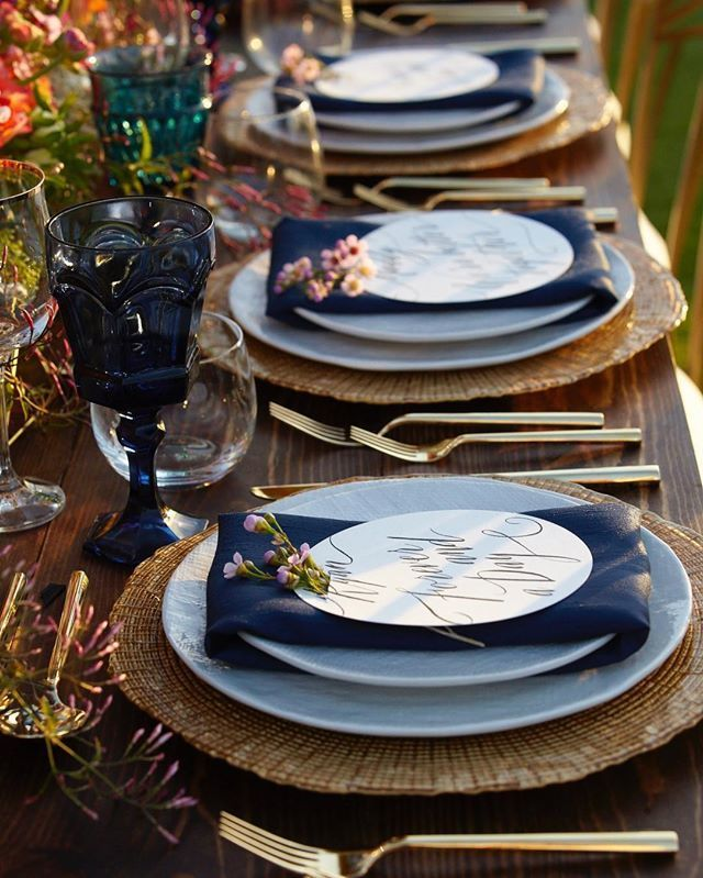 White Linen Dinnerware Collection Gold Flatware by Set Maui wedding inspiration at Four Seasons Wailea Design & 37 best White Linen Dinnerware Collection images on Pinterest ...