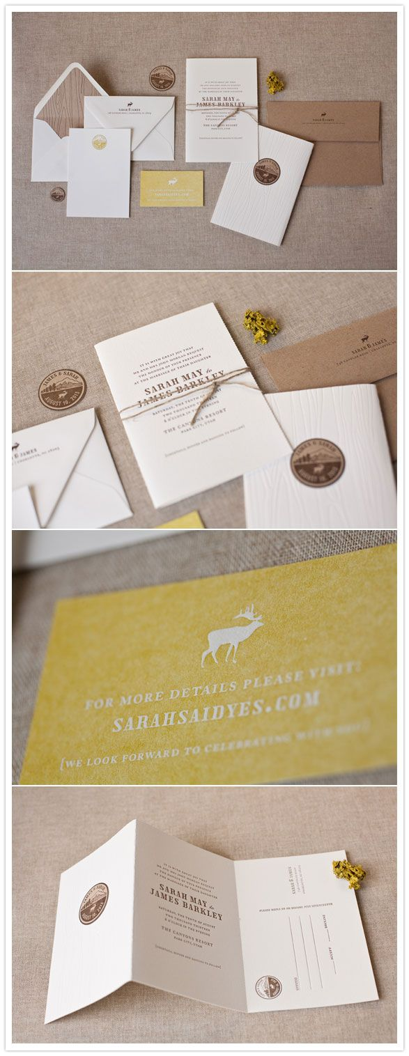 New Alee and Press invites! | Pretty Paper | 100 Layer Cake