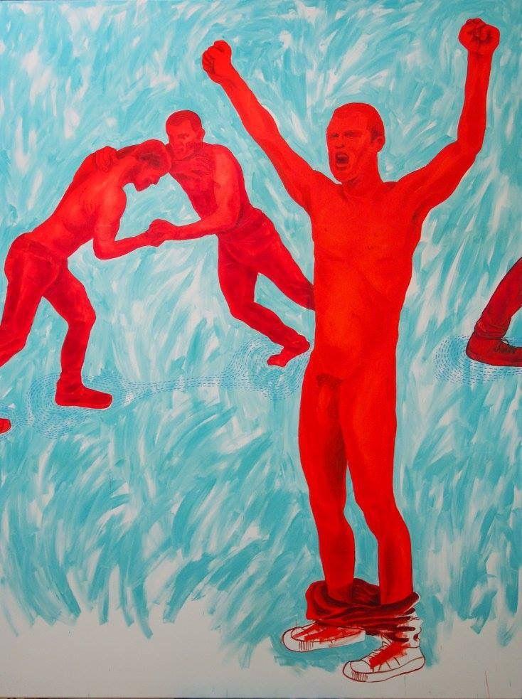 Obraz 6 - 200 x 150 cm; olej, płótno; 2015