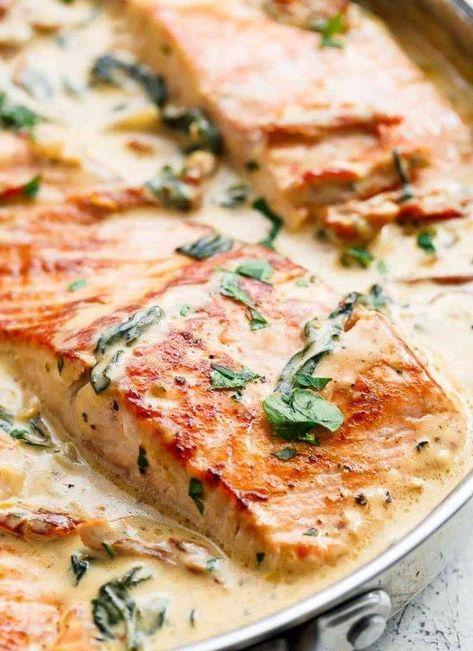 Recette saumon au beurre à l'ail pleine de saveurs