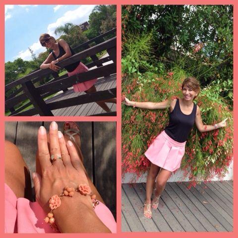 Ale's Pink Fairy Tale:storia di una principessa moderna...incantata da moda e make-up: #Outfit - Passeggiata al Parco