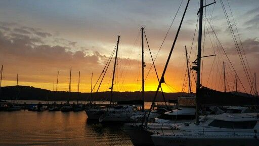 Sunset Knysna Waterfront