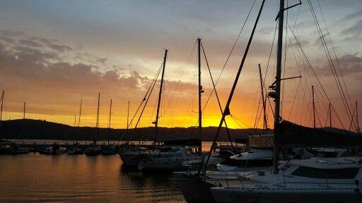 Sunset Knysna Waterfront