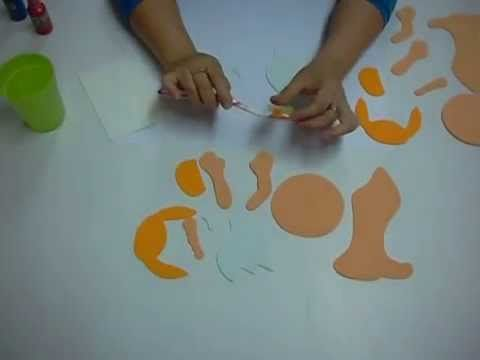 "Con ésta  técnica de falso poroso en Foami, Goma Eva o Microporoso podrás dar un acabado con ""textura de corcho""   (Dale click al link) www.youtube.com/watch?v=o9gMTrjzPOk (Si te gusta el video por favor compártelo)"