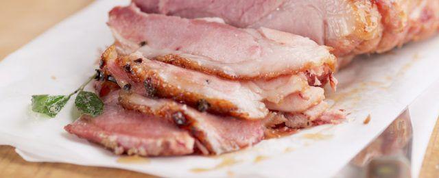 Prosciutto di maiale glassato: per le feste