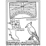 Canadian Province – British Columbia Coloring Page | crayola.com