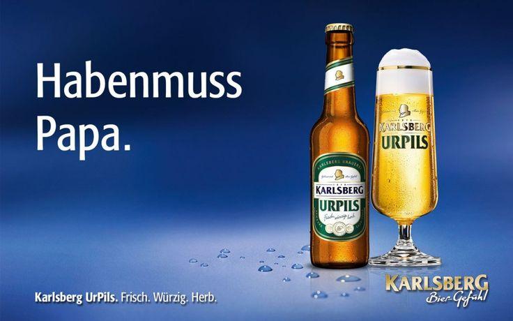 Karlsberg Urpils Habenmuss Papa