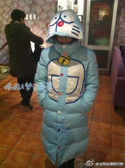 Doraemon coat