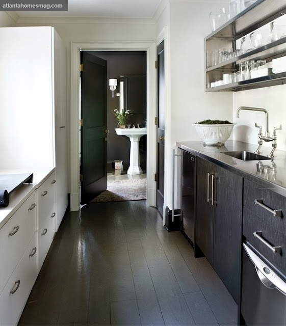 White Painted Wood Floor With Modern Cabinetry: 22 Best Images About Dark Wooden Floors On Pinterest