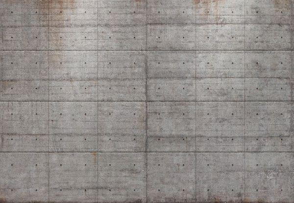 Фотообои на стену «Бетонные блоки». Komar 8-938 Concrete Blocks
