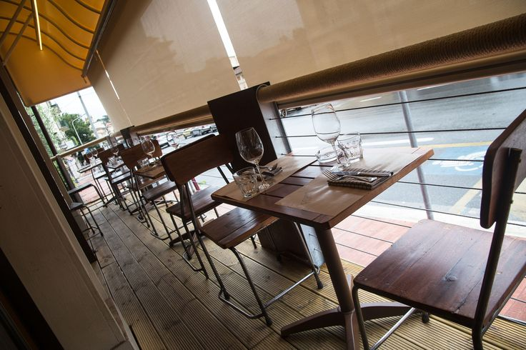 La nostra terrazza #esterni #terrazza #salone #tavoli #ristorante #montecatini #resourant #ristorante #fishinglab #fish #entrata #bancone #arredamento #design
