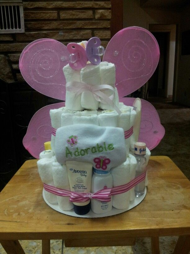Top 10 Ideas About Fairy Diaper Cake On Pinterest All