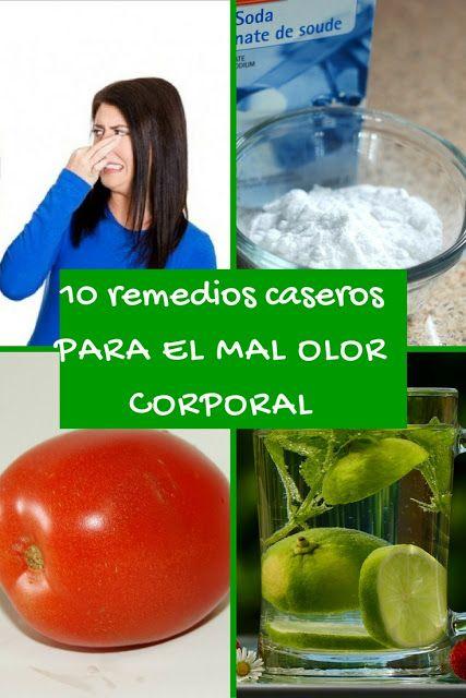 remedios caseros para el mal olor corporal