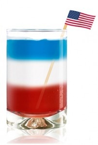 Salute to the Flag Cocktail
