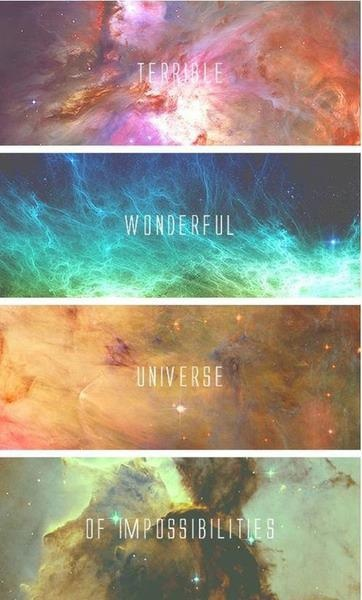 colorful galaxy tumblr quotes - photo #11