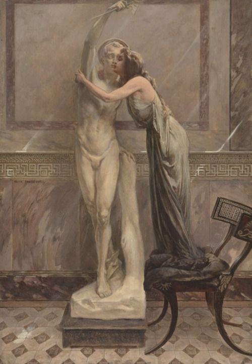 Piotr Stachiewicz(1858-1938) - Quo Vadis illustrations