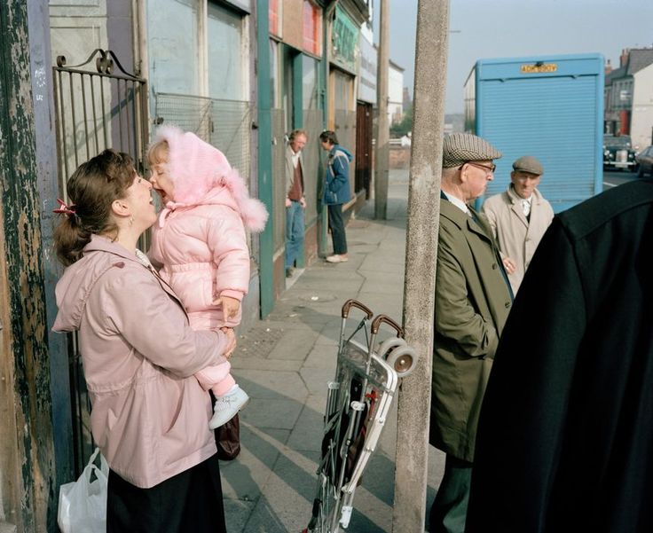 Martin Parr - England. Liverpool. A mother and daughter. 1984.
