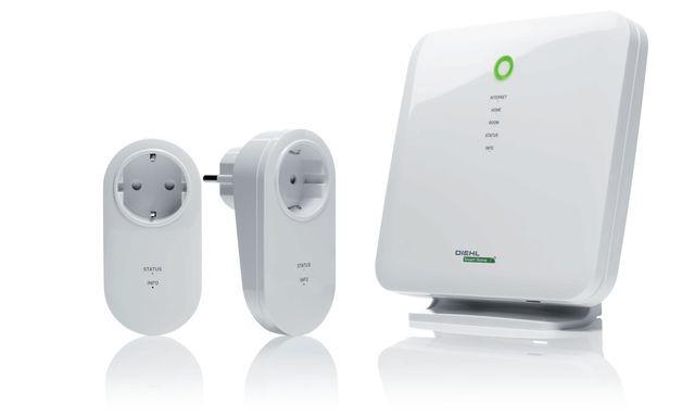 Smart Home für Mieter: Funk-Steckdosen und Smart-Home-Zentrale für Z-Wave von Diehl. Ideal für Mietwohnungen, da keine baulichen Veränderungen notwendig sind.