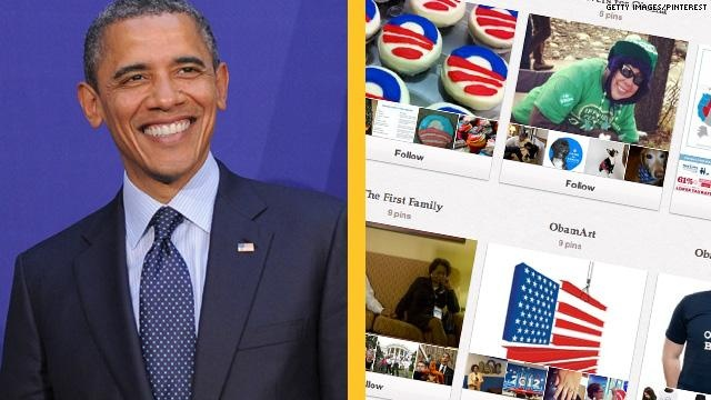 7 surprising Pinterest Pages, including President Obama, Ann Romney, GE and others.