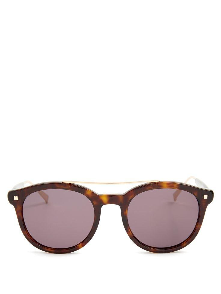 Needle acetate sunglasses | Max Mara | MATCHESFASHION.COM UK