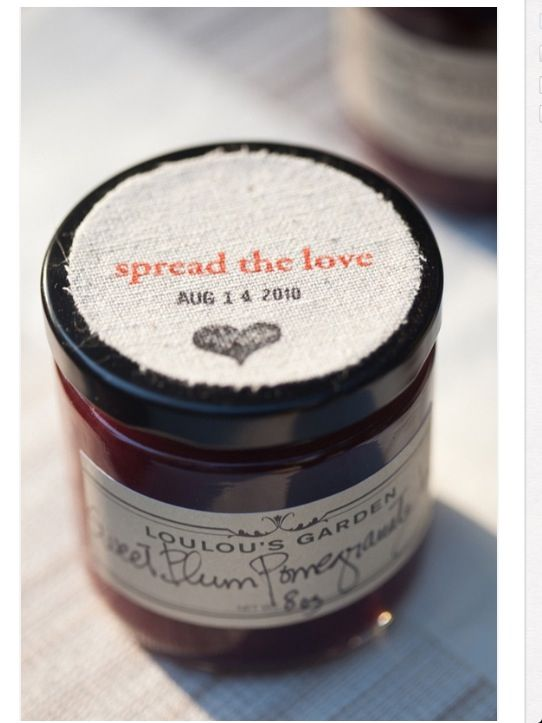 Spread the love - love this idea for bonbonnieres ♥