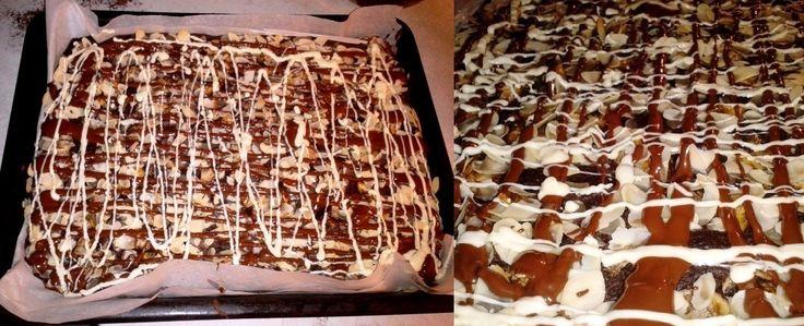 Fitness ovesný koláč. Zdravá pochoutka s čokoládou
