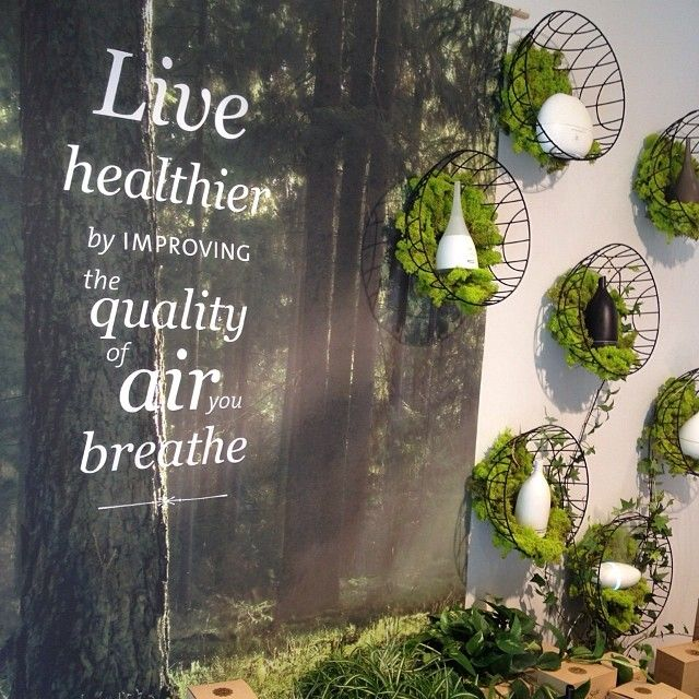 Saje Window Display Connecting people to the healing power of plants. 100% natural products. Our product line has expanded to include hundreds of different essential oil products, wellness accessories, and healthy gift ideas. #SajeEssentials http://saje.ca https://instagram.com/sajewellness/ https://www.pinterest.com/sajewellness