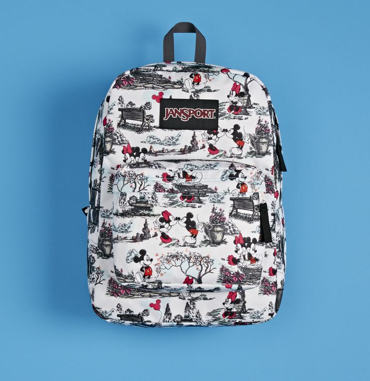 Introducing the First-Ever JanSport Disney Backpacks!! I think E and I might need one of these for the trip.