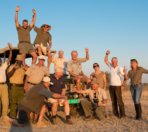 Celebrating 20 years of conservation at Ongava Reserve.  © @Olwen Ackerly Evans #Safari #Africa #Namibia #WildernessSafaris
