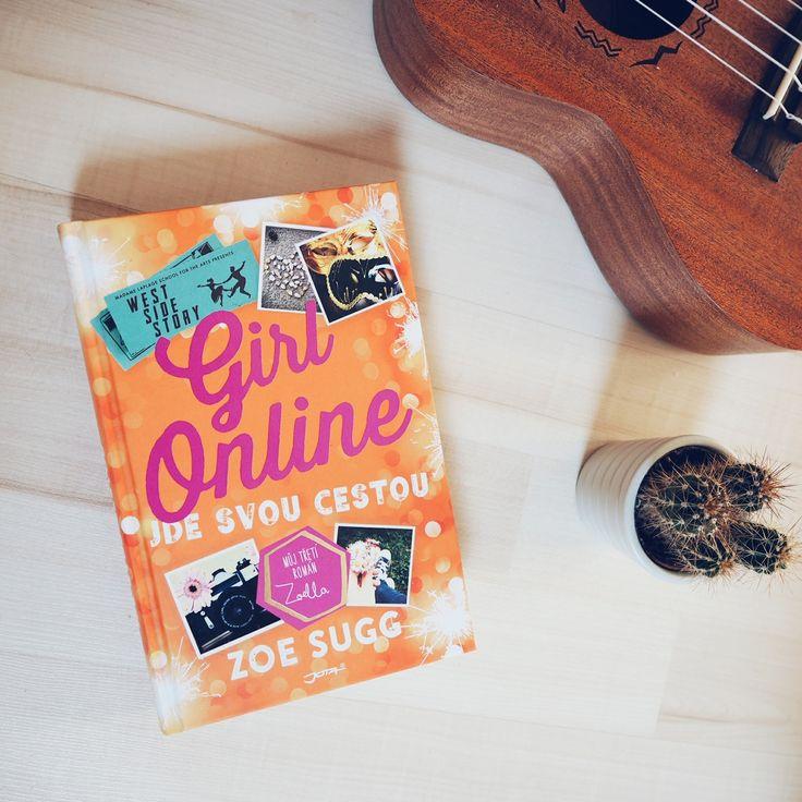 Girl Online Textbook  Free Stock Photo