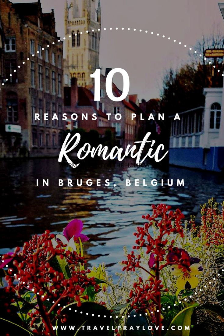 #Bruges, #Belgium is a surprisingly romantic destination! From castles to a…
