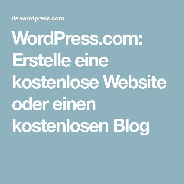 WordPress.com: Erstelle eine kostenlose Website oder einen kostenlosen Blog