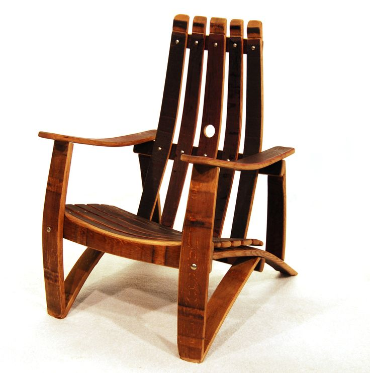how to build a wine barrel adirondack chair
