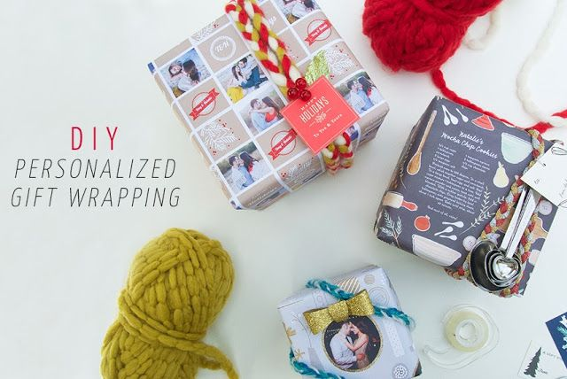 DIY: Personalized Gift Wrapping (  $125 Minted Giveaway)