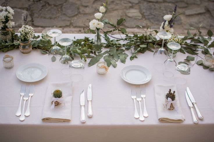 WEDDING TABLE SETTING AND DECOR - BORGO COLOGNOLA