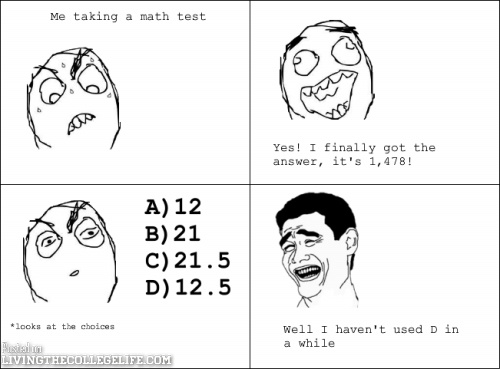 Math Exam   Sunday Funday College Meme Compilation. Story Of My Life