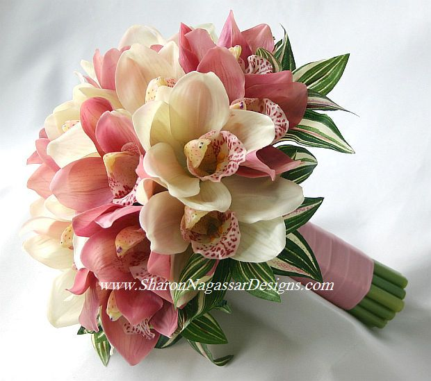 silk orchid wedding bouquets 17 best images about wedding flowers on 7411