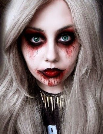 Look awesome and scary this Halloween carrying these Halloween makeup ideas for women. Act like Witch, Carry Skeleton makeup, Panther style, Be a Zombie ..