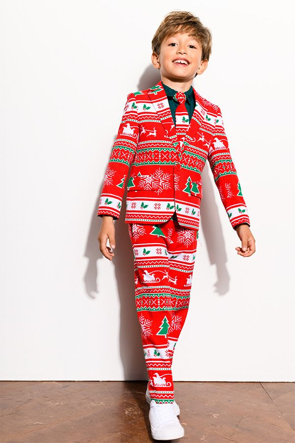 Christmas outfit for kids with the suits from OppoSuits. - Christmas Outfit For Kids With The Suits From OppoSuits. Christmas
