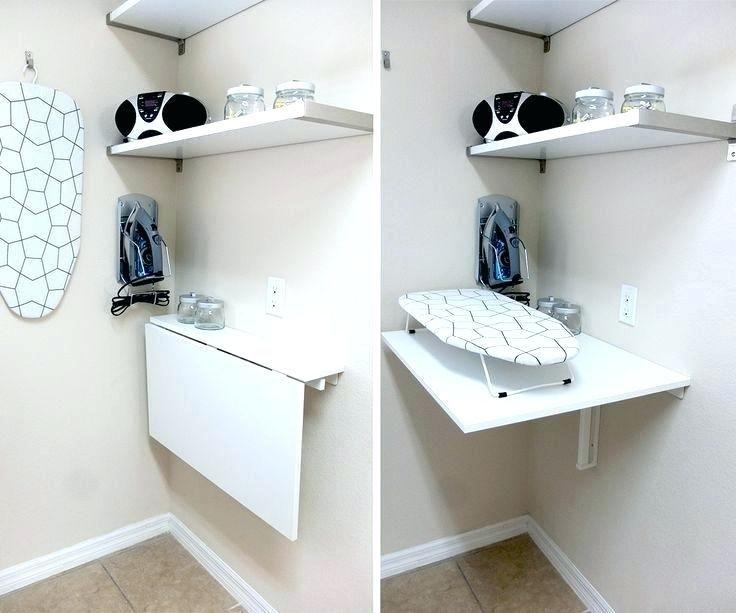Laundry Room Folding Station Ideas Ruang Cuci Meja Kerja Rumah