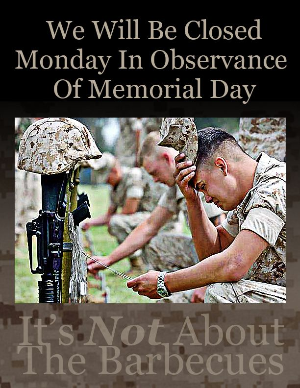when will be memorial day 2015