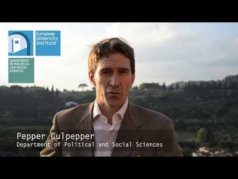 PhD in Political and Social Sciences • European University Institute
