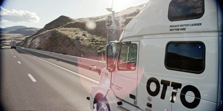 Uber wants to offer freight hauling services with its self-driving trucks next year