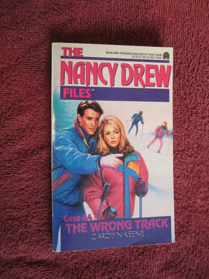 Nancy Drew Files Case 64 The Wrong Track by Carolyn Keene