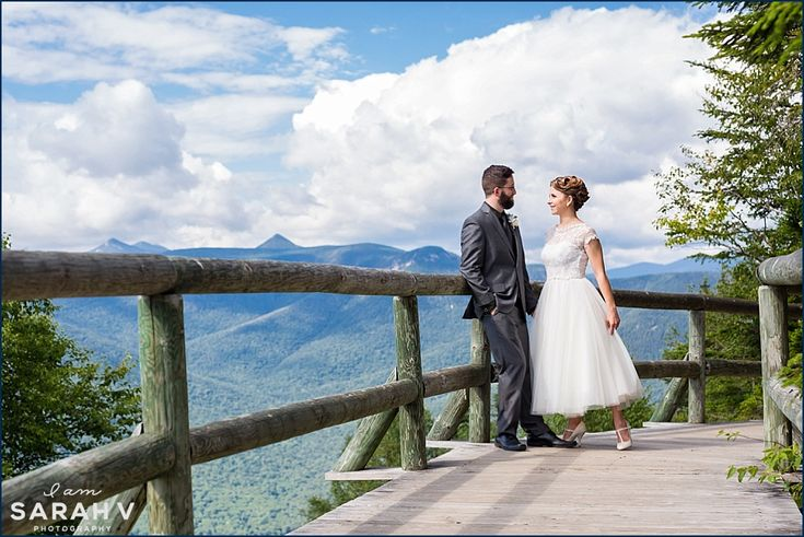 Loon Mountain Resort Wedding  in Lincoln, NH // Mountains, vintage, outdoors, hiking